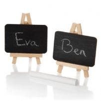Mini Easel Chalk Board Place Card Holders